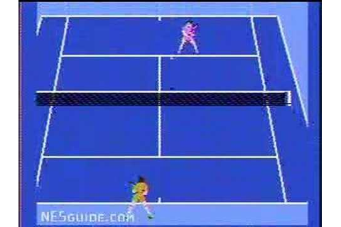 Racket Attack - NES Gameplay - YouTube