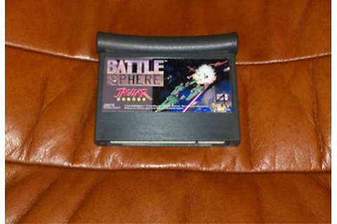 Retro Treasures: BattleSphere for the Atari Jaguar