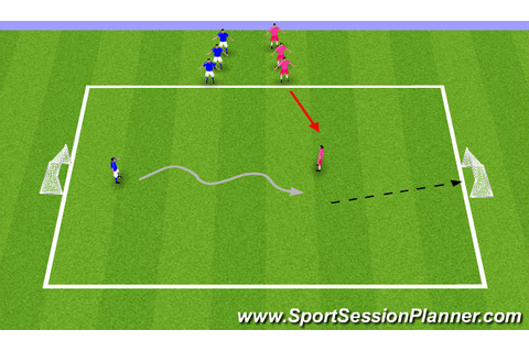 Football/Soccer: Combination Game (, U9)