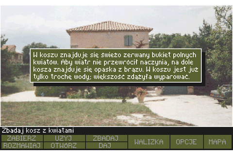 Tajemnica Statuetki (1993) by Metropolis Software MS-DOS game