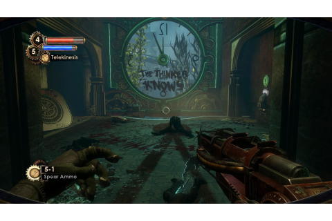 Bioshock is the king of atmosphere (Minerva's Den) : gaming