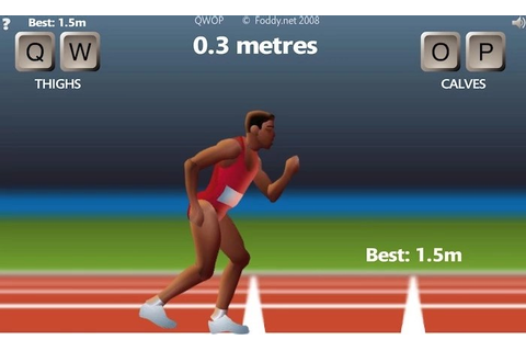 QWOP Game Play - Unblocked Games