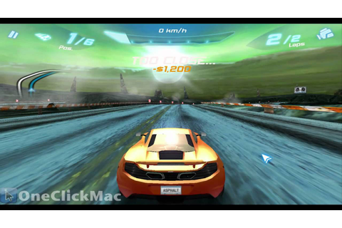 Asphalt 6: Adrenaline for Mac Gameplay (HD) - OneClickMac ...
