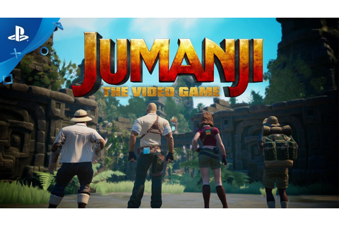 Jumanji: The Video Game - Announce Trailer | PS4 - YouTube