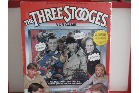 Vintage Three Stooges VCR Game by Pressman