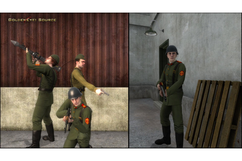 GoldenEye has been remade for the PC and it's beautiful