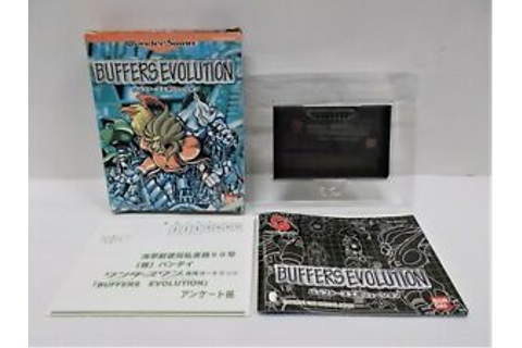 WS -- Buffers Evolution -- Boxed. WonderSwan, JAPAN GAME ...