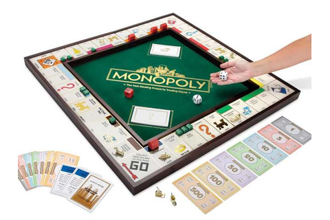 Hammacher's Giant Monopoly Game - Business Insider