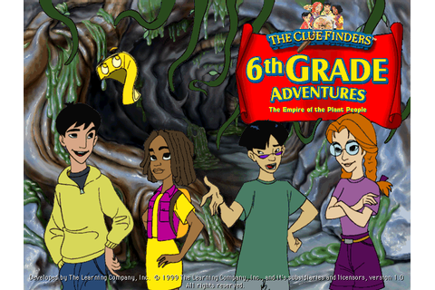 The ClueFinders 6th Grade Adventures: Empire of the Plant ...