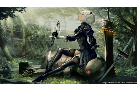 Download Nier Automata HD Wallpapers