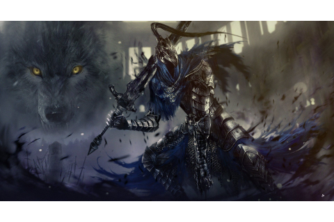 Video Game Dark Souls Artorias The Abysswalker Sif (Dark ...