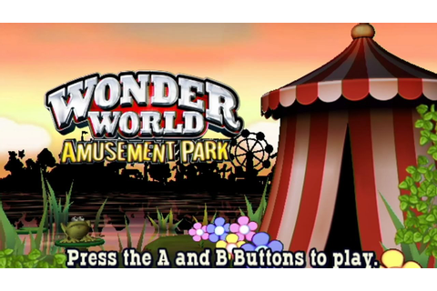 Wonder World Amusement Park Wii GamePlay - YouTube