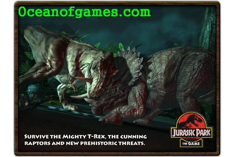 Jurassic Park The Game Free Download