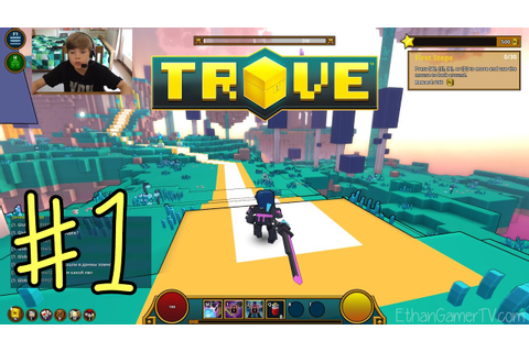 Trove (#1) | KID GAMING - YouTube