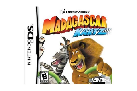 Madagascar Kartz Nintendo DS Game - Newegg.com