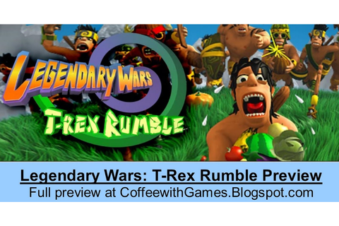 Coffee With Games: Legendary Wars: T-Rex Rumble DSiWare ...