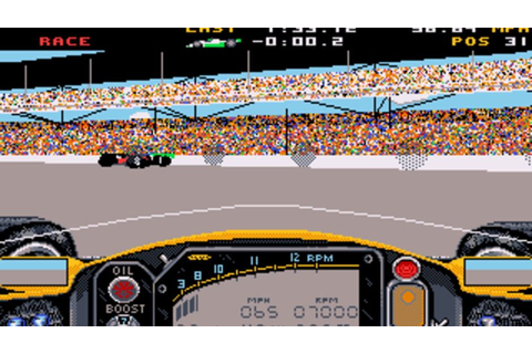 Indianapolis 500: The Simulation