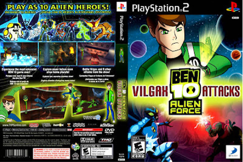 Ben 10 Alien Force Vilgax Attacks PS2 | GAMES AND SOFTWARE ...