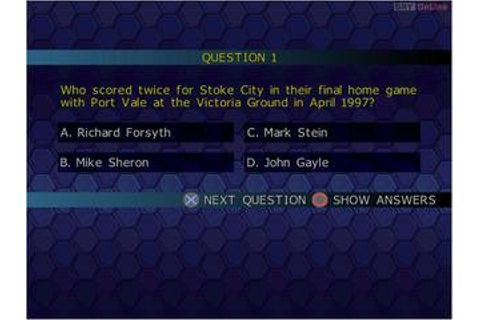 Championship Manager Quiz - PC - gamepressure.com