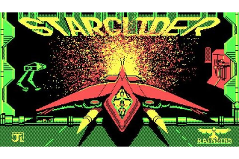 Star Glider gameplay (PC Game, 1986) - YouTube