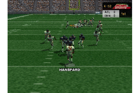NFL Quarterback Club 2000 (1999) N64 game