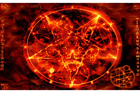Satanic Pentagram Wallpapers - Wallpaper Cave