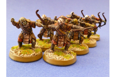 Septimanie Figs: Archers orques du Mordor - Figurines ...