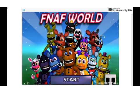 How to make a FNAF world game using scratch part 1 - YouTube