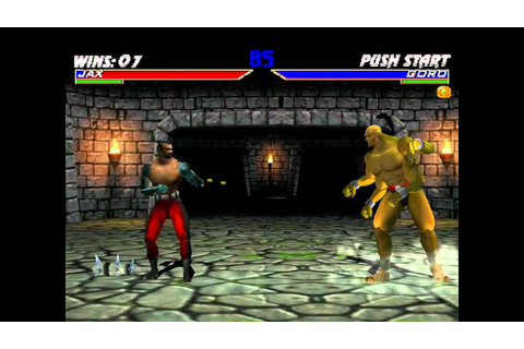 Mortal Kombat Gold (Ultimate Difficulty, 9 rounds) - Real ...