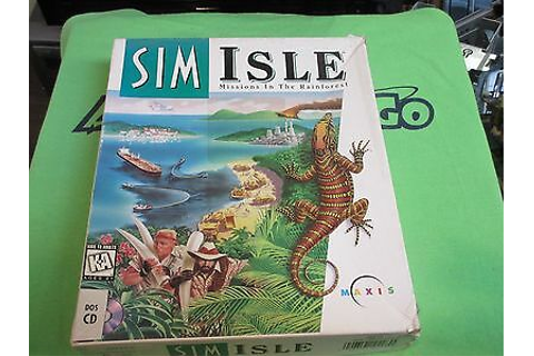 SimIsle: Missions in the Rainforest (PC, 1995) - Retail ...