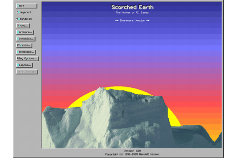 Scorched Earth (1991) - MS-DOS Games Online