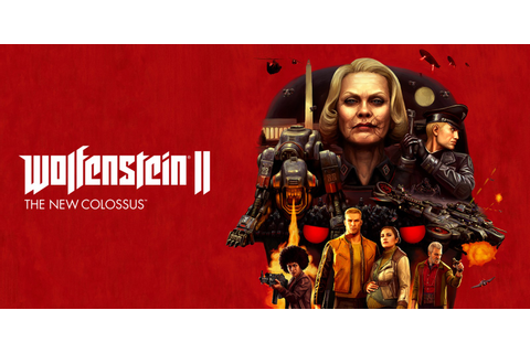 Wolfenstein II: The New Colossus | Nintendo Switch | Games ...
