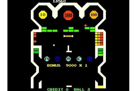 Arcade Game: Bomb Bee (1979 Namco) - YouTube