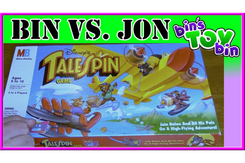 Bin Vs. Jon - Disney's TaleSpin Board Game from 1991 ...