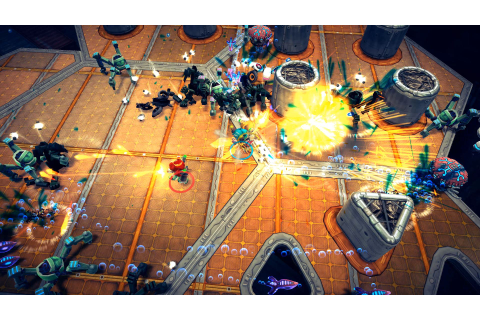 X Marks the Twin-Stick Shooter: 'Assault Android Cactus ...
