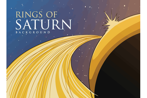 Rings Of Saturn - Download Free Vector Art, Stock Graphics ...
