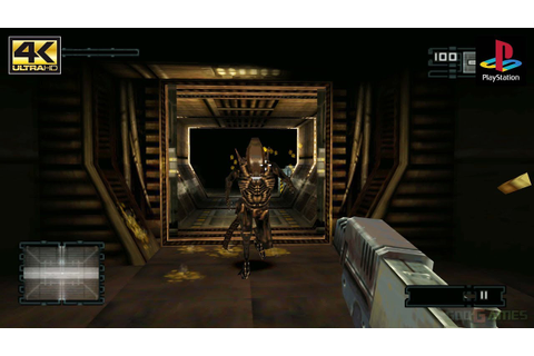 Alien Resurrection - Gameplay PSX / PS1 / PGXP ...