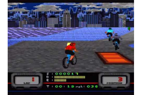 Mountain Bike Rally Game Sample - SNES/SFC - YouTube