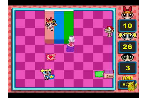 Power Puff Girls Pillow Fight Flash Game (Blossom) demo ...