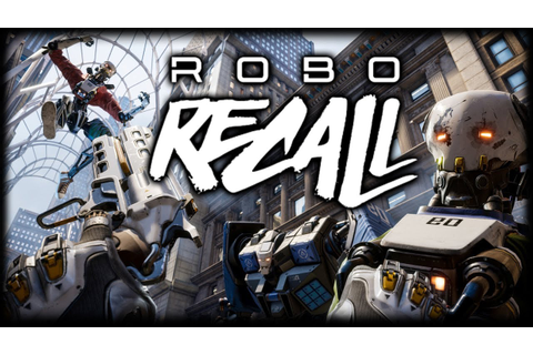 THE BEST VR GAME?! Robo Recall - Oculus Rift + Touch ...