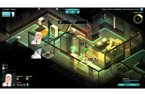 Invisible Inc. Gameplay - YouTube