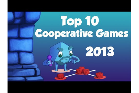 Dice Tower Top 10 Cooperative Board Games - YouTube