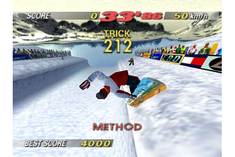 Game Review – 1080˚ Snowboarding (N64) | Rose Red Prince