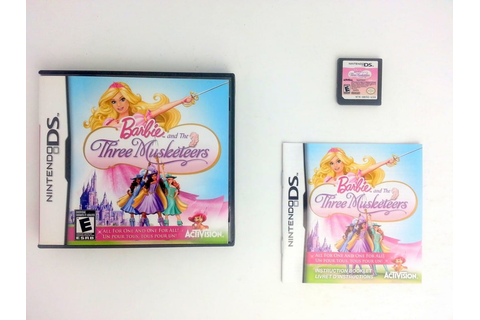 Barbie and the Three Musketeers game for Nintendo DS ...