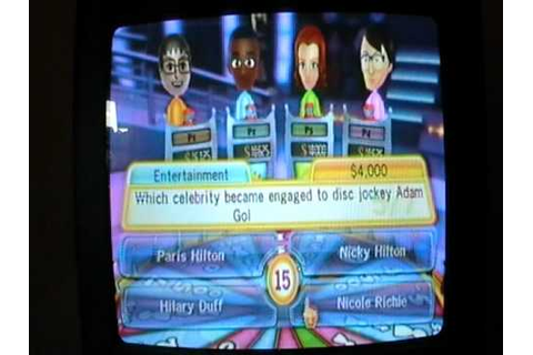 TV Show King Party Wii Game #1 - YouTube