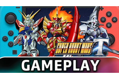 Super Robot Wars T | First 10 Minutes on Switch - YouTube