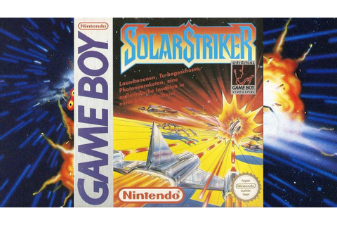 Solar Striker | Game Boy/Gameplay/Full HD | Nintendo ...
