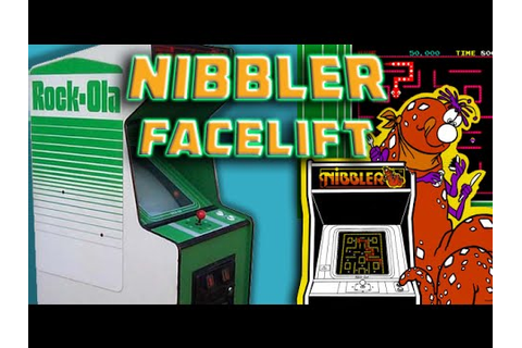Rock-Ola Nibbler Arcade Facelift - YouTube