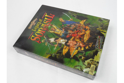 Hero Quest II: Legacy of Sorasil for Commodore Amiga by ...