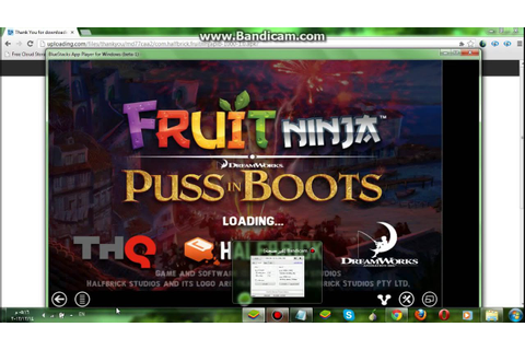 how to get fruit ninja puss in boots pc - YouTube